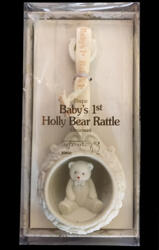 Snowbabies Baby's 1st bear rattle - Primo Sonaglio